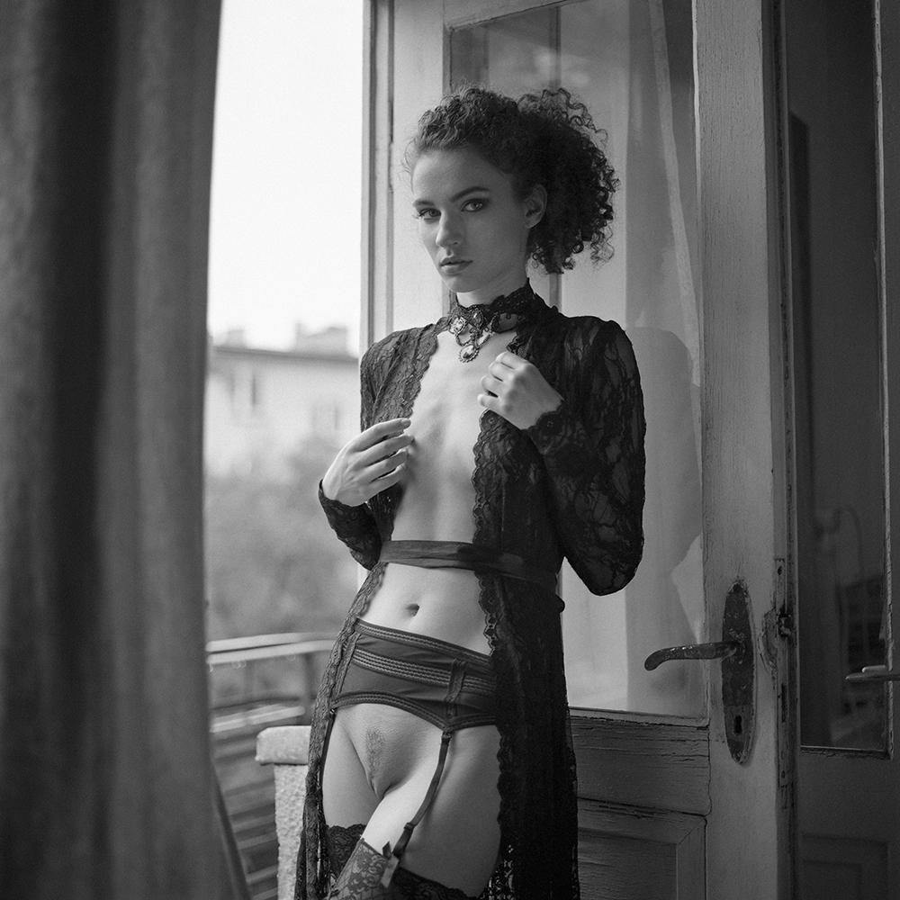 Akt, analog, wnętrza, hasselblad 203FE, Agnieszka G, Ferociouss24, modelka, studio, Ninoveron, nude, poland, polska