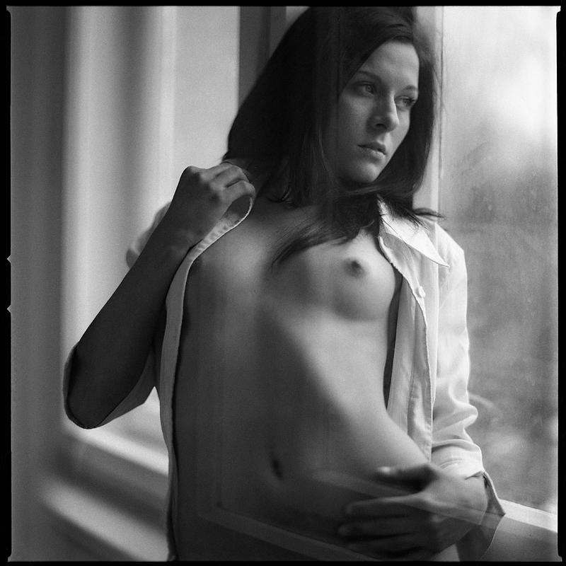analog, Ewelina, Hasselblad 203FE, modelka, akt, nude, studio