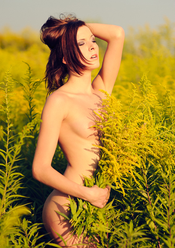 Ewelina, Nikon D700, modelka, akt, nude, plener, becapri