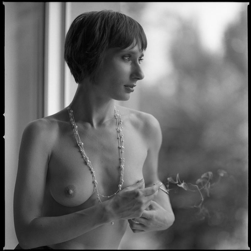 Asia, akt, nude, studio, analog, hasselblad 203FE