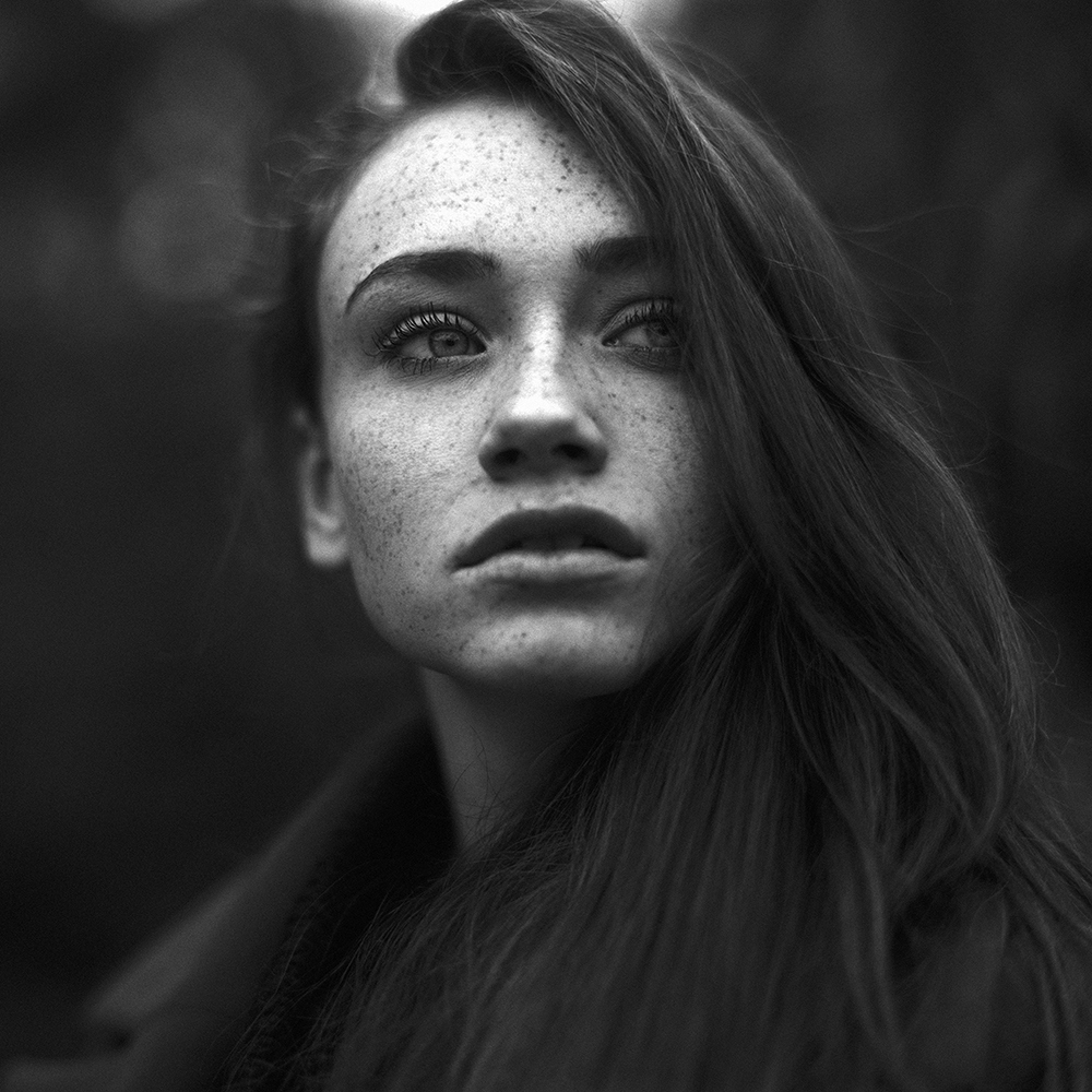 polska, analog, hasselblad, modelka, Ninoveron, portret, Kasia, Kasia Tręda, plener, Park Śląski