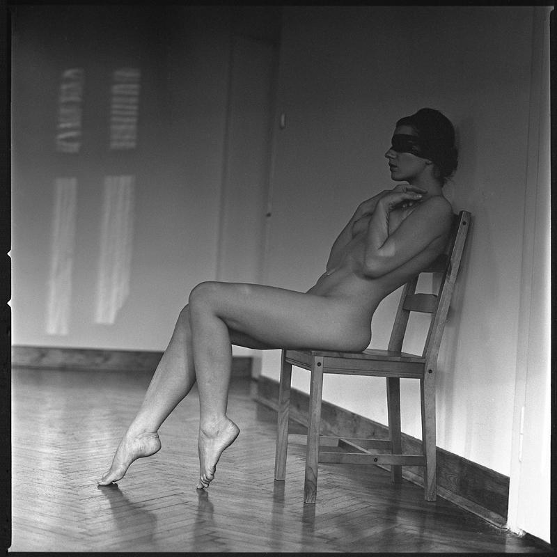 Akt, analog, hasselblad 203FE, modelka, Ninoveron, nude, Studio, Ania, Lilith