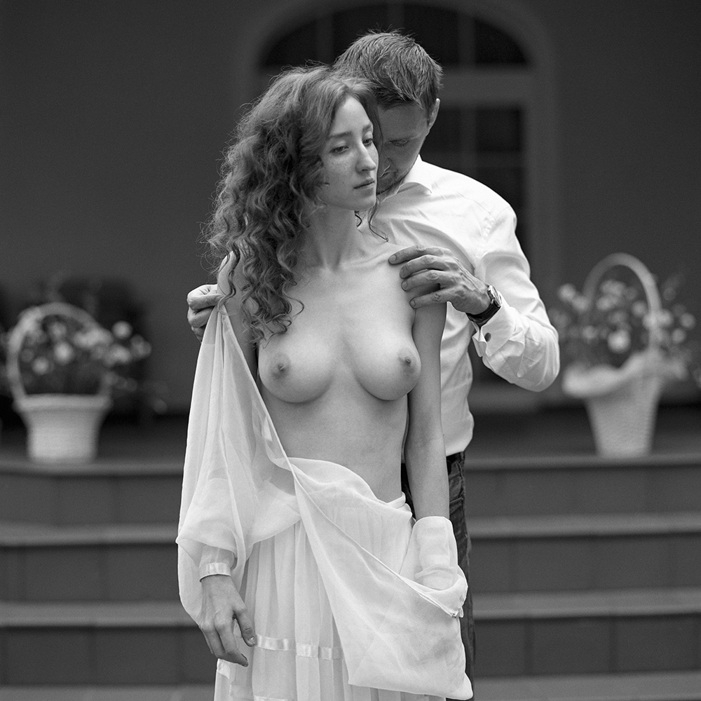 polska, analog, hasselblad 203FE, modelka, Ninoveron, akt, nude, Ania, Lisia, Radek, para, duet, plener