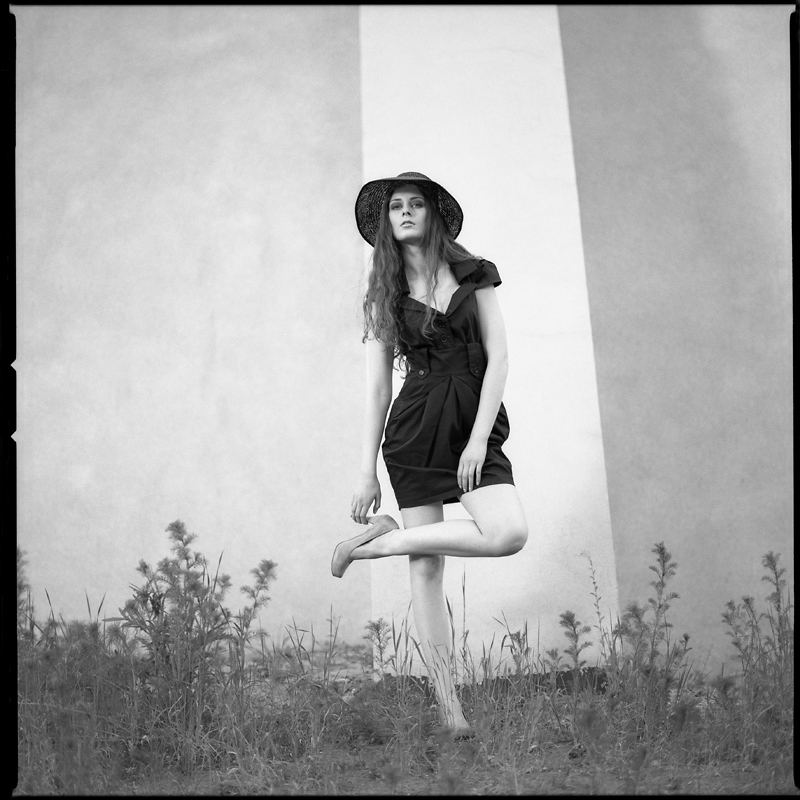 Fashion, portret, plener, analog, hasselblad 203FE, Marta, modelka, Ninoveron, Marta89