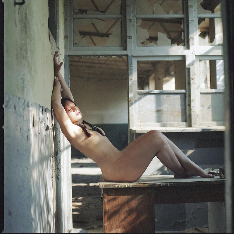 Stella, Metamfetamina, fabryka, analog, akt, nude, plener