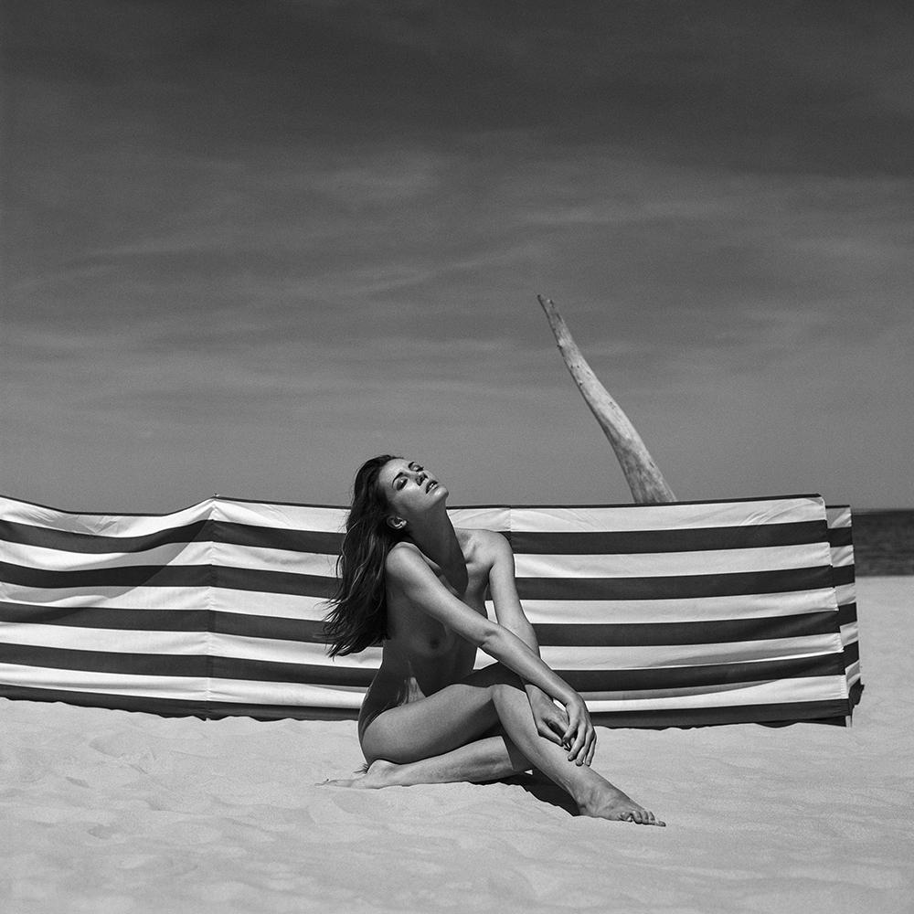 polska, baltyk, analog, hasselblad, modelka, Ninoveron, topless, akt, act, nude, morze, sea, Michaela, Michaela Novakova, czeszka, plener
