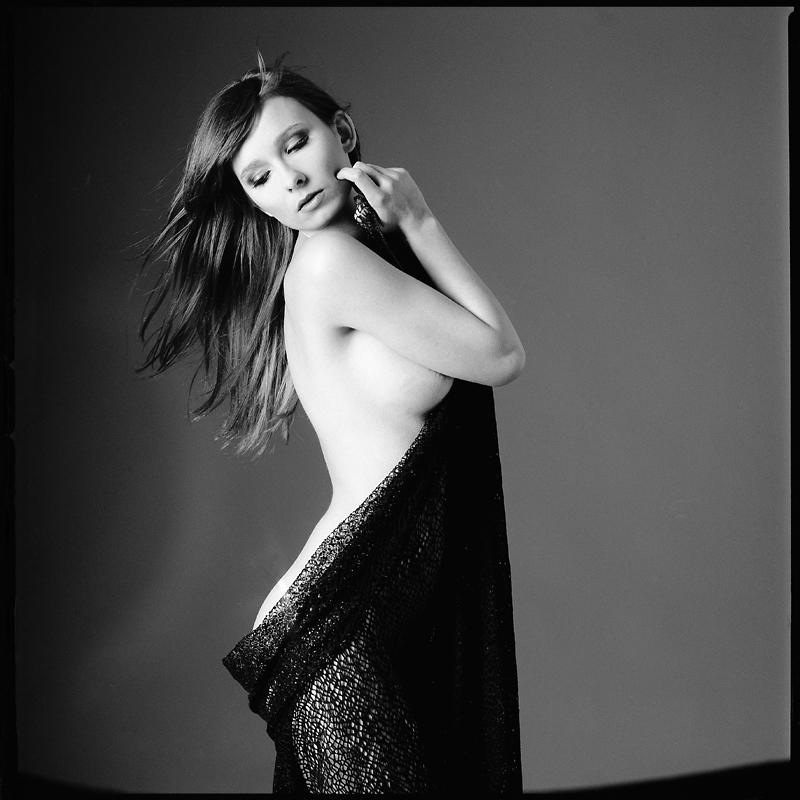 analog, Magda, Hasselblad 203FE, modelka, akt, nude, studio