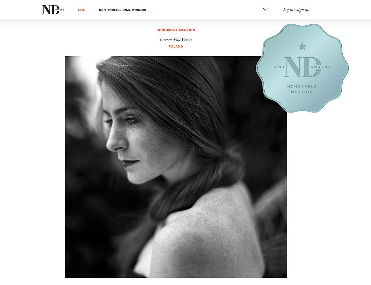portret, portrait, nagroda, konkurs, ND Awards, www.ndawards.net, ninoveron, Agata