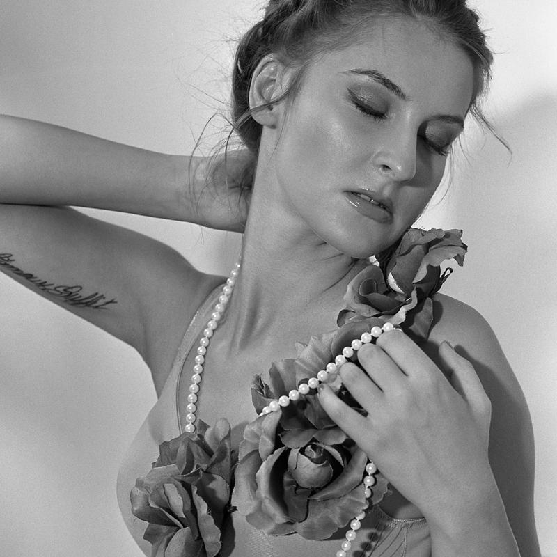 Ania, Rusty, analog, hasselblad, akt, nude, portret, studio