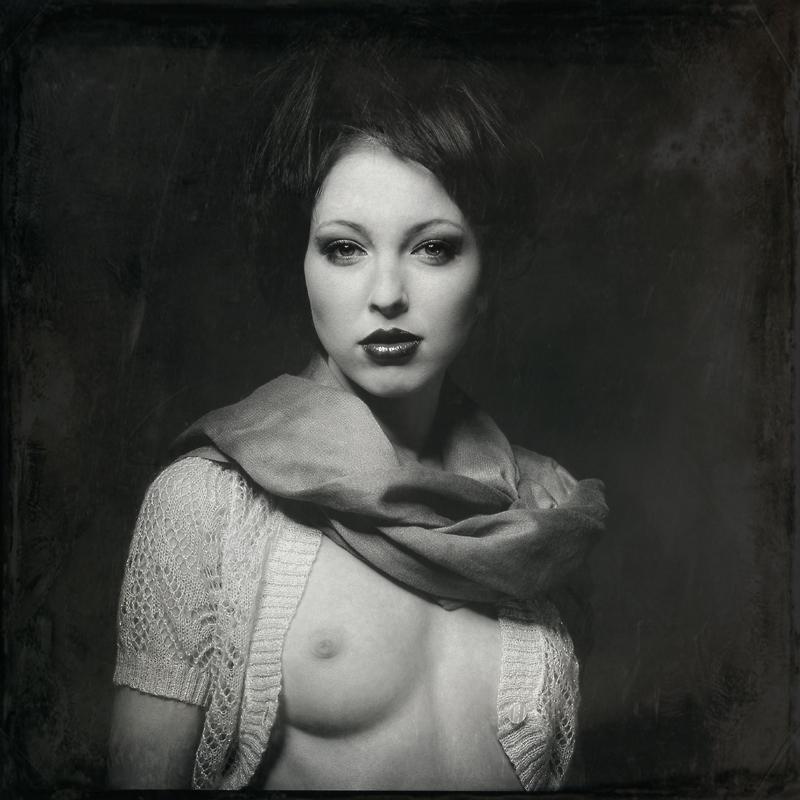 analog, Sandra, Saaan, Hasselblad 203FE, portret, modelka, fashion, studio