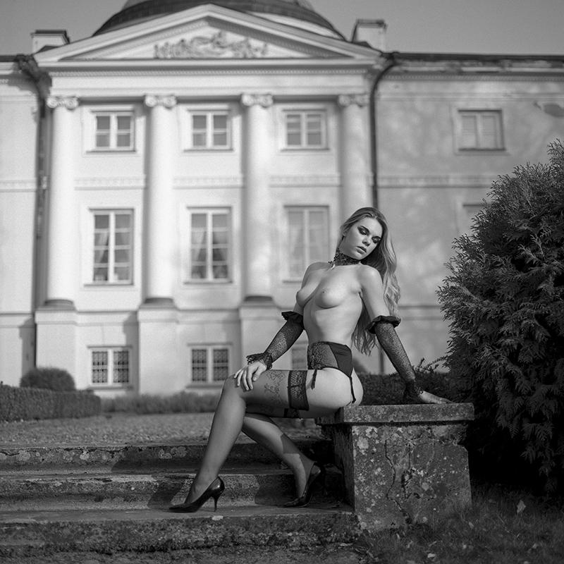 polska, analog, hasselblad 203FE, modelka, Ninoveron, akt, nude, plener, Sylwia, skyyler