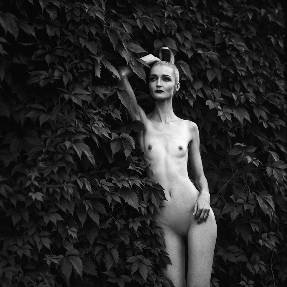 polska, analog, pentacon six, modelka, Ninoveron, akt, nude, topless, fineart, portret, Karolina, plener podlaski