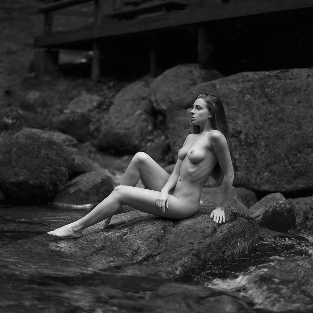 polska, analog, hasselblad 203FE, modelka, Ninoveron, akt, nude, Sandra, Tatianaxd, women, Karkonosze, wodospady