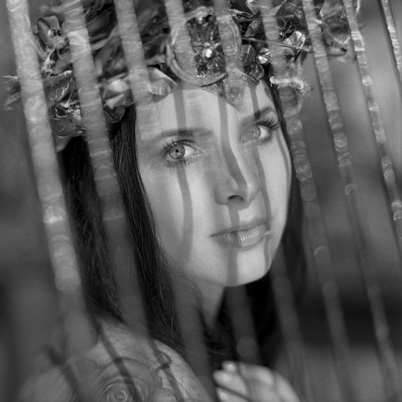 polska, analog, hasselblad 203FE, modelka, Ninoveron, portret, Beata Wiśniowska, Fotoszopa