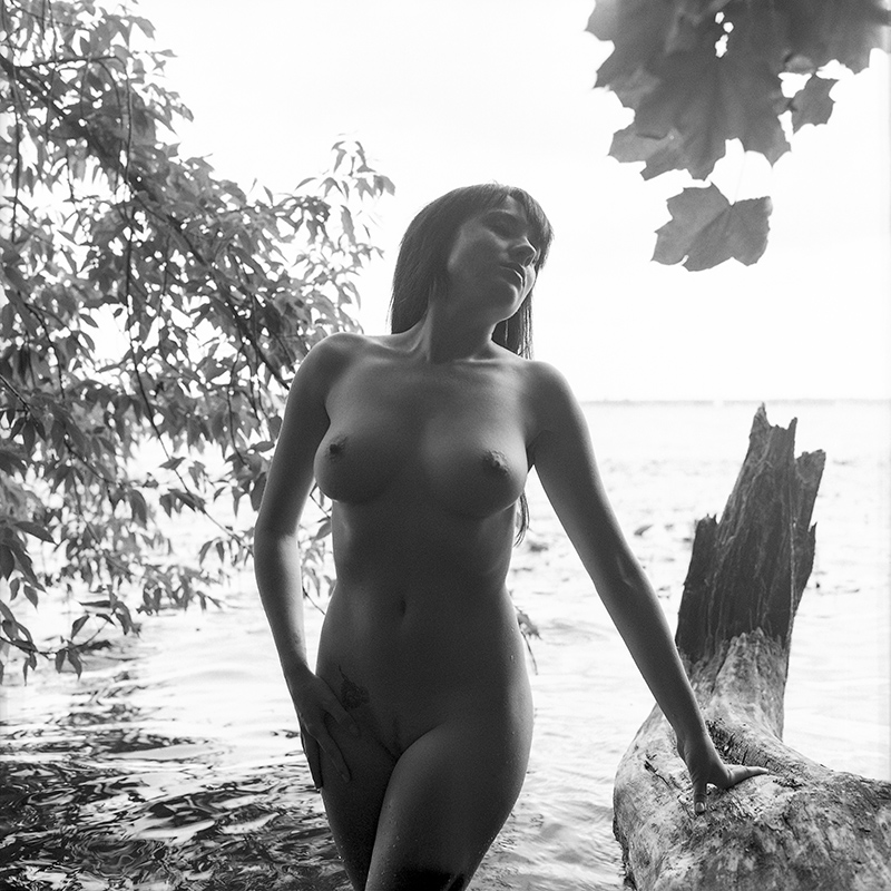 polska, analog, hasselblad 203FE, modelka, Ninoveron, akt, nude, xagyx, Agnieszka Szczepańska, Fotoszopa, Zalew Zegrzyński